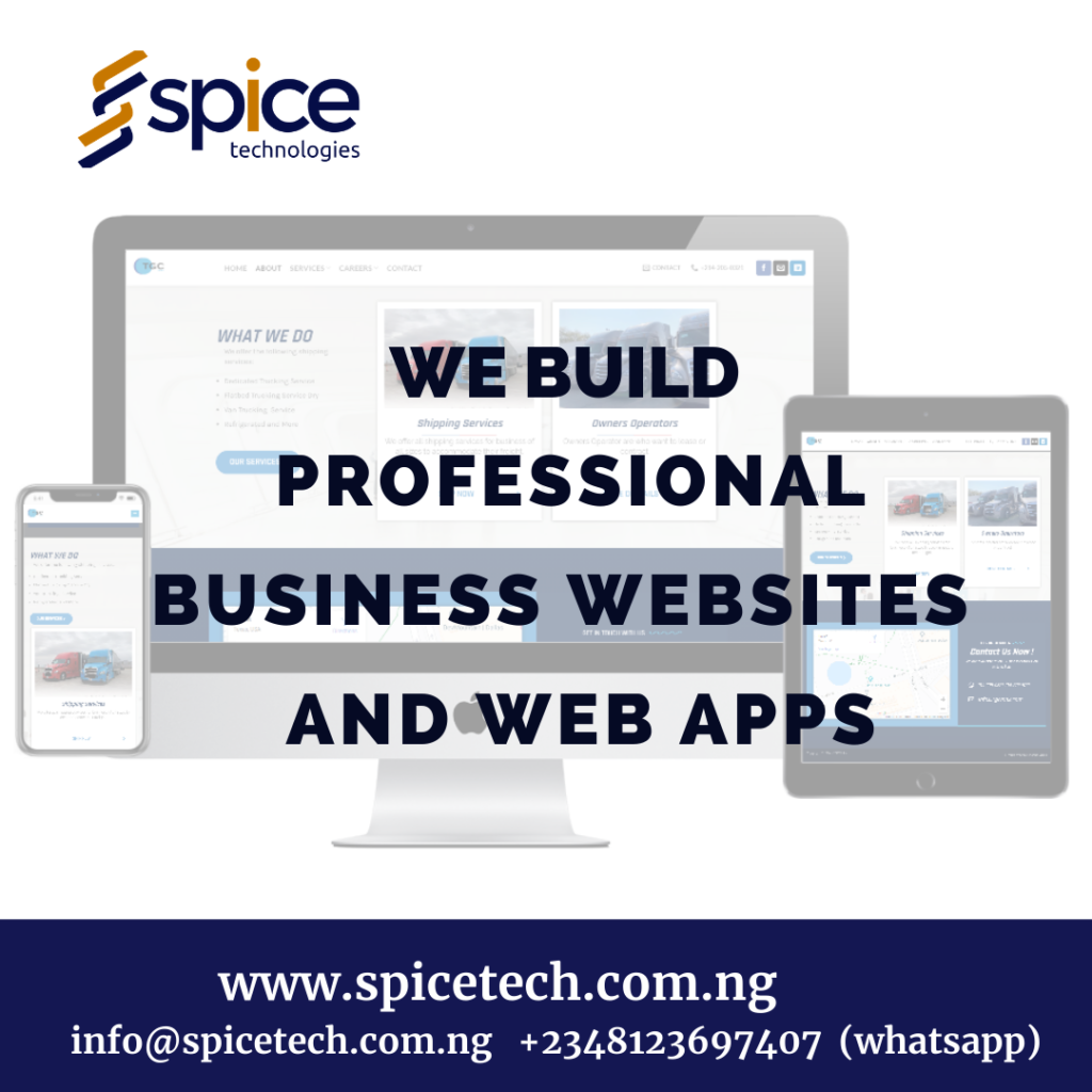 Professional Business Website